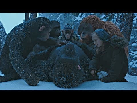 Luca's Death Scene | War For The Planet Of The Apes (2017)#LOWI