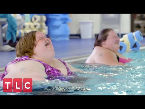 Tammy And Amy Go Swimming! | 1000-lb Sisters