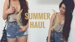 TRY ON SUMMER HAUL (SOLDES ZARA, BERSHKA, PARFOIS, LUXE B ) | ASH WAYOFLIFE