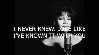 I have nothing - Whitney Houston - Karaoke male version lower (-6)