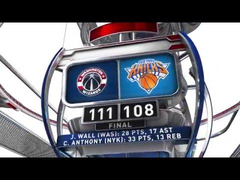 Washington Wizards vs New York Knicks - February 9, 2016