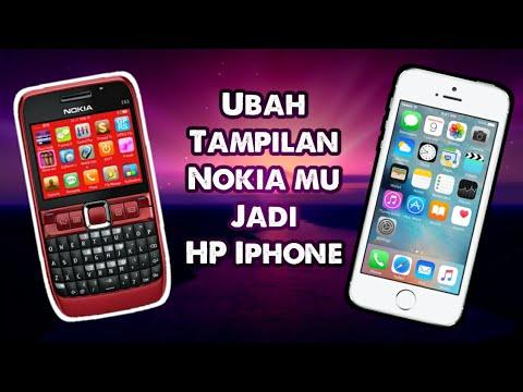 Symbian Os Nokia E63 Cara Mengubah Tampilan Nokia Symbian Menjadi Seperti Iphone Youtube