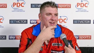 Daryl Gurney admits: 'I'm very lucky... the better player lost.' | BetVictor World Matchplay 2018