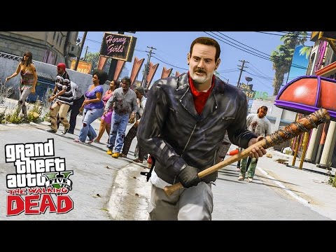 THE WALKING DEAD #1 LES DÉBUTS DE NEGAN ! (GTA 5 MODS)
