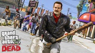 THE WALKING DEAD #1 LES DÉBUTS DE NEGAN ! (GTA 5 MODS)