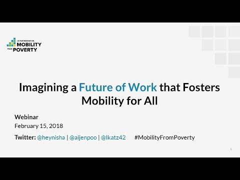 Imagining a Future of Work That Fosters Mobility for All