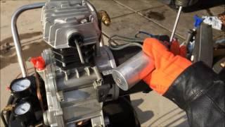 Cách Sửa Máy Bơm Hơi ( how to fix air compressor ) ... Video # 70