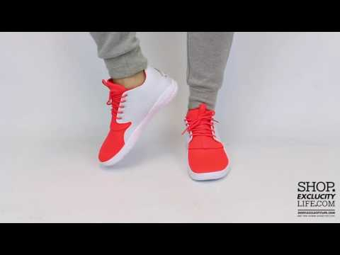 Jordan Eclipse - Infrared 23 - Metallic Gold Coin On feet Video at Exclucity