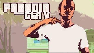 ToniejestGTAV - parodia GTA zryta bardziej, niż łeb Trevora