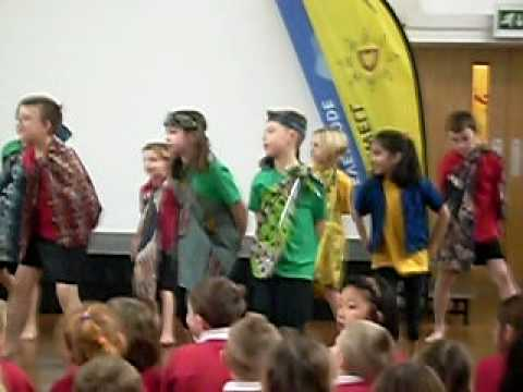Harry and Class mates African Dance
