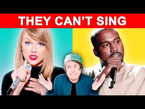 Famous Singers Who CAN'T SING