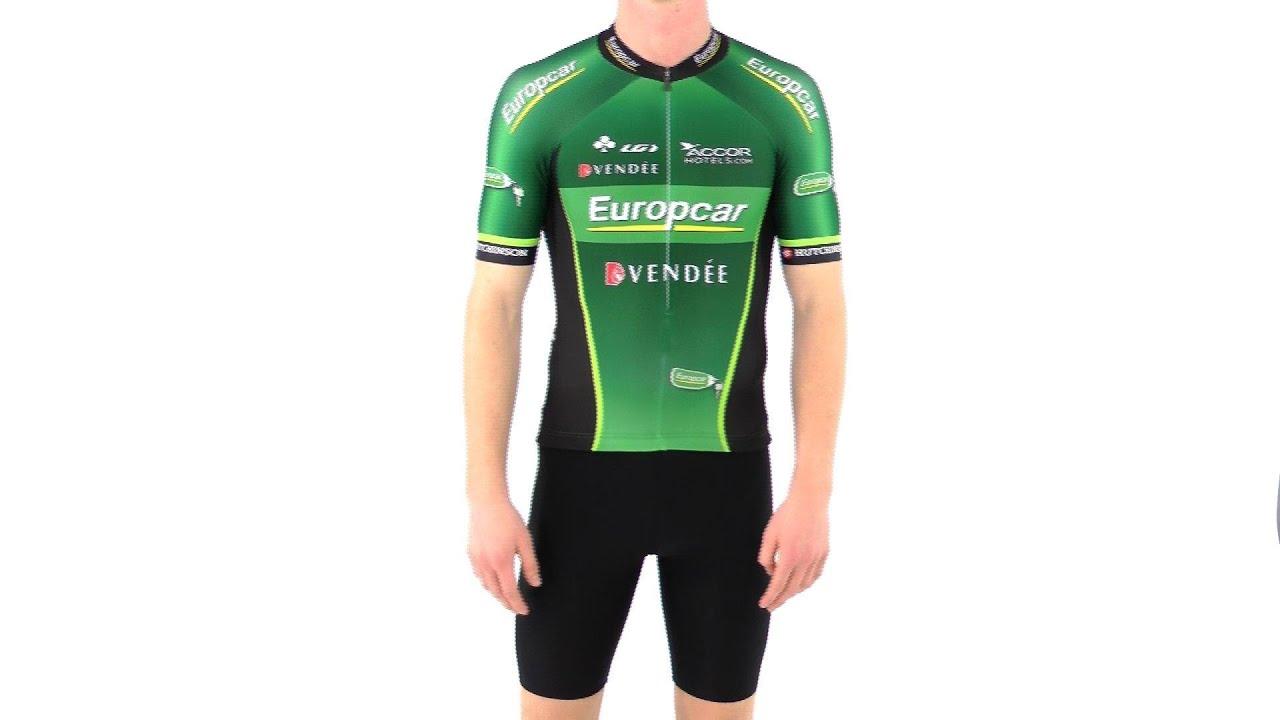 Louis Garneau Men S Original Europcar Team Cycling Jersey