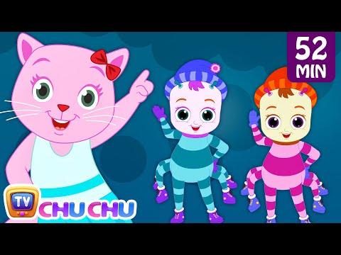 Incy Wincy Spider Nursery Rhyme With Lyrics - Cartoon Animation Songs for Kids   Cutians   ChuChu TV