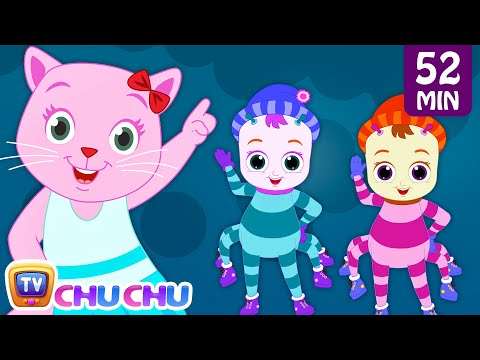 Thumbnail: Incy Wincy Spider Nursery Rhyme With Lyrics - Cartoon Animation Songs for Kids | Cutians | ChuChu TV