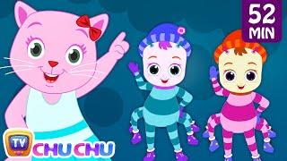 Incy Wincy Spider Nursery Rhyme With Lyrics Cartoon Animation Songs For Kids  Cutians  Chuchu Tv