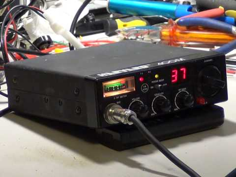Harvard 400M, UK (CB 27/81) CB radio (Mobile)  - On The Air Test