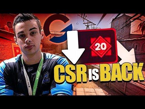 16 ROUNDS em SEQUÊNCIA na GAMERSCLUB - CSR is BACK!! ft. detr0it