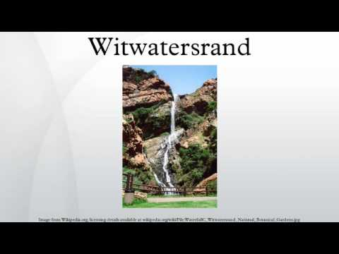 Witwatersrand