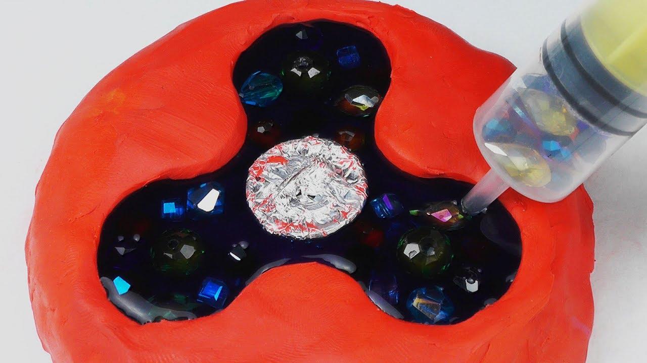 diy diamond fidget spinner youtube. Black Bedroom Furniture Sets. Home Design Ideas