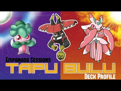 First Place Tapu Bulu GX / Lurantis GX Deck Profile!!