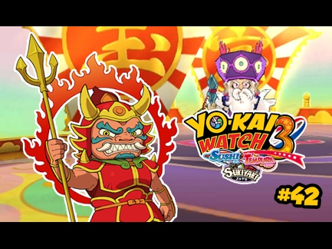 Yo Kai Watch 3 Sukiyaki 42 Fr Chasse Aux Divinités Du Bonheur