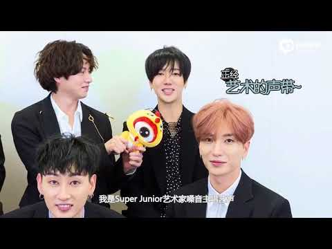 171120 新浪韩娱 Super Junior 独家采访 || Super Junior Sina Interview