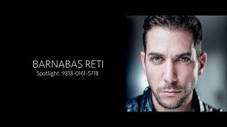 Barnabas Reti actor showreel 2017