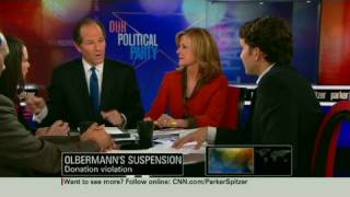 CNN: Eliot Spitzer slams Olbermann suspension