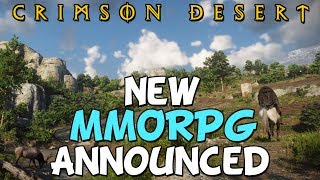 New Black Desert Successor Announced! - Crimson Desert MMORPG