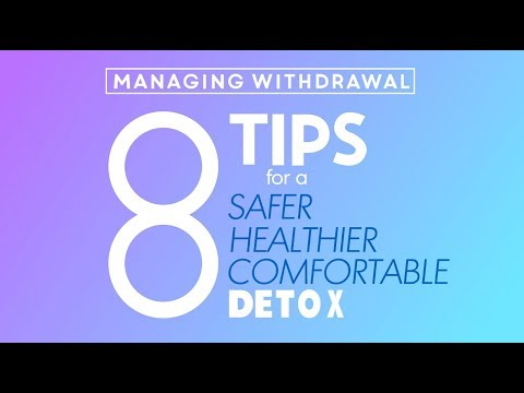 Drug Withdrawal Symptoms and How to Manage It During Detox