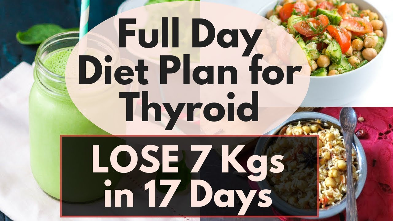 diet plan to lose weight with hypothyroidism