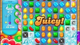 Candy Crush Saga SODA Level 729 CE