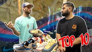 Top 10 Sneakers With Sean Wotherspoon *ROUND TWO*