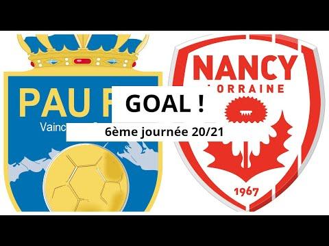 Pau Nancy Goals And Highlights