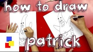 How To Draw Patrick From Spongebob