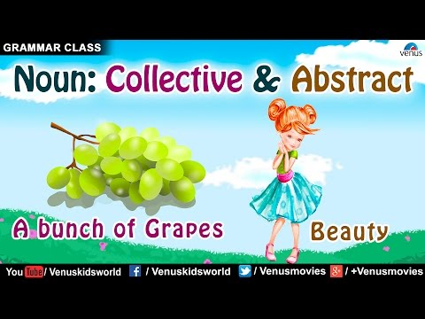 Collective Noun & Abstract Noun ~ Grammar Class