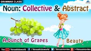 Collective Noun & Abstract Noun ~ Grammar Class