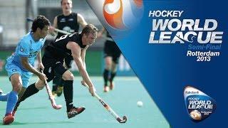 India vs New Zealand Men's Hockey World League Rotterdam Pool B [17/6/13]