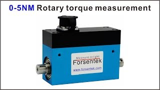 Rotary torque sensor 0-5NM rotating torque measurement