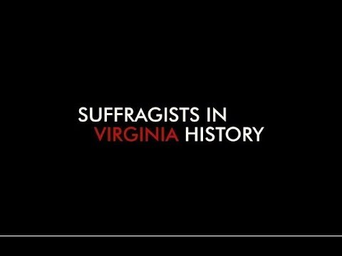 Suffragists in Virginia History