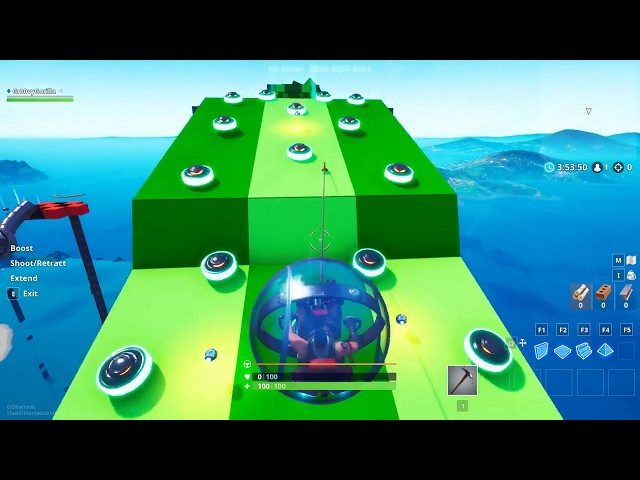 Super Baller Course 2 By KK-Slider - Fortnite Custom Island Creative Mode