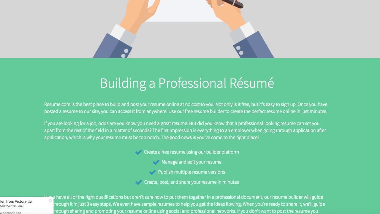 Indeed Acquires Resume.com - YouTube