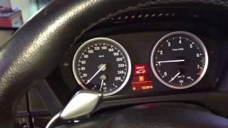 Замена электро блока ручника на BMW X6 E71