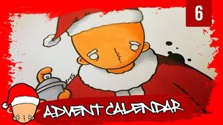 How to draw a santa claus graffiti character (6th Door)(Shop: http://dkdrawing.bigcartel.com This is my Graffiti Advent Calendar. At my Graffiti Advent Calendar i will upload a new video every day from the 1st to the ..., 2015-12-06T18:00:00.000Z)