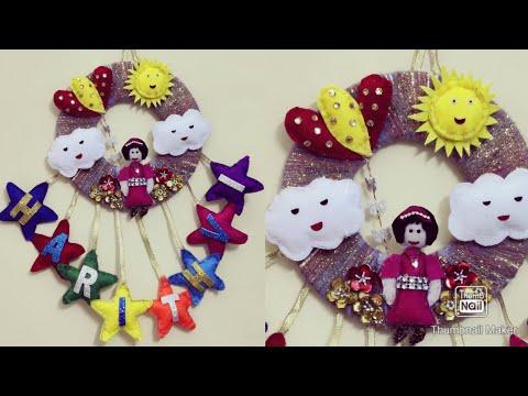 diy-kids-room-decor-ideas-|-wall-hanging-for-kids-room