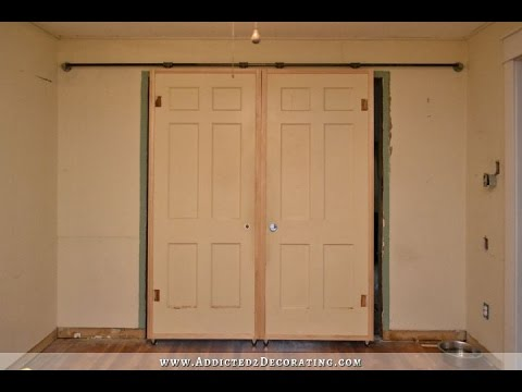 Rolling french doors youtube for Rolling french doors