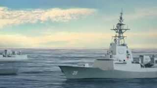 Hobart Class Destroyer Air Warfare Capability Royal Australian Navy