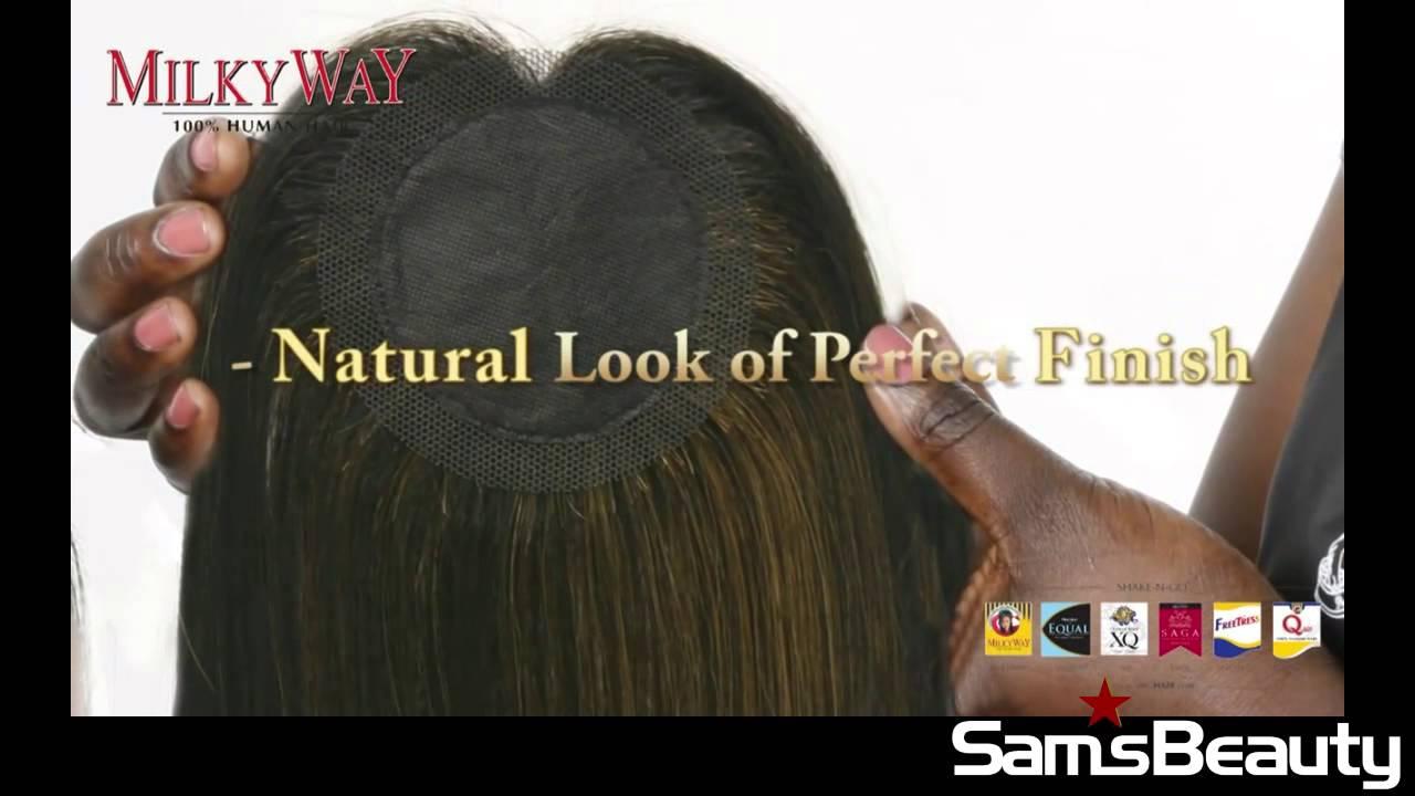 How To Apply Nape Weaving Hair Samsbeauty Youtube