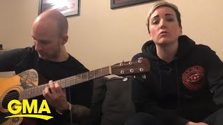 Coronavirus style duet remixes Blink-182's 'What's My Age Again' | GMA Digital