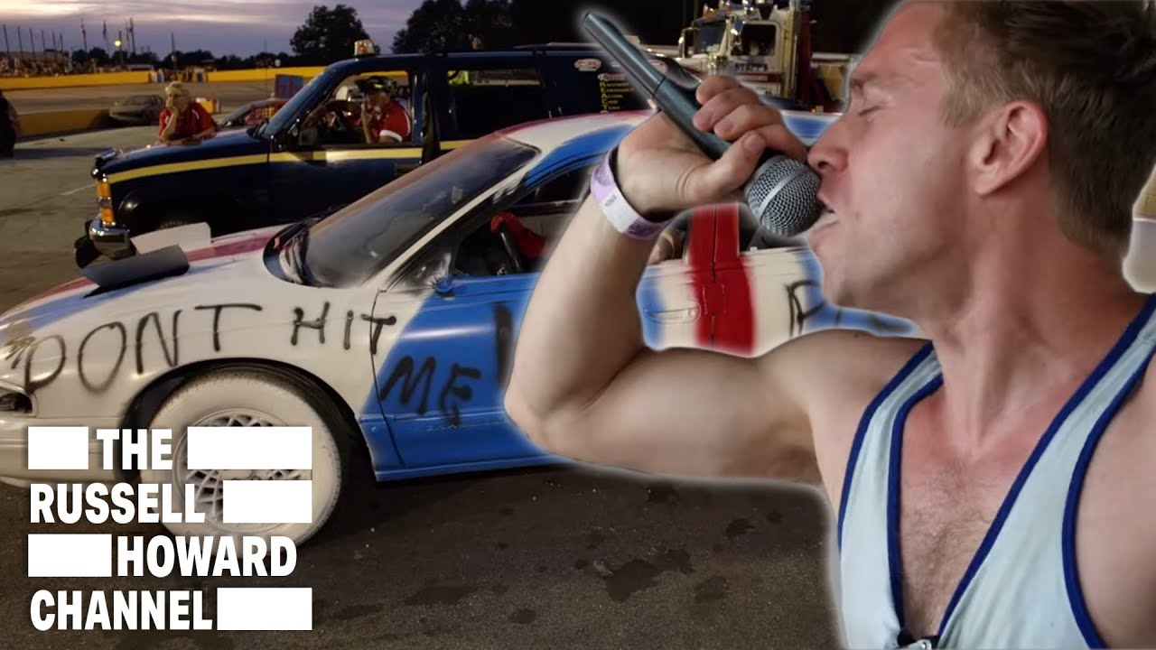 Russell Howard Competes in a Demolition Derby | The Russell Howard Channel